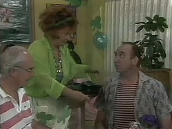 Gloria Lewis, Wally in Neighbours Episode 1160