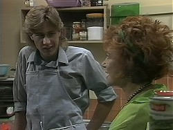 Ryan McLachlan, Gloria Lewis in Neighbours Episode 1160
