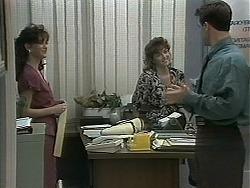 Caroline Alessi, Christina Alessi, Paul Robinson in Neighbours Episode 1160