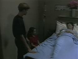 Ryan McLachlan, Lochy McLachlan, Dorothy Burke in Neighbours Episode 1161