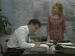 Paul Robinson, Melanie Pearson in Neighbours Episode 1161