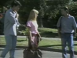 Josh Anderson, Melissa Jarrett, Todd Landers in Neighbours Episode 1161