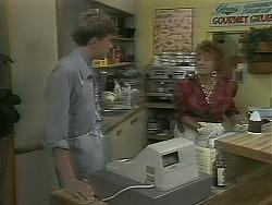 Ryan McLachlan, Gloria Lewis in Neighbours Episode 1161
