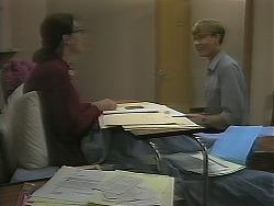 Dorothy Burke, Ryan McLachlan in Neighbours Episode 1162
