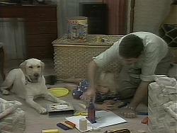 Bouncer, Joe Mangel in Neighbours Episode 1162