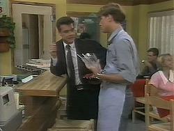 Paul Robinson, Ryan McLachlan in Neighbours Episode 1162