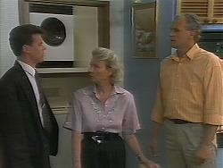 Paul Robinson, Helen Daniels, Jim Robinson in Neighbours Episode 1162