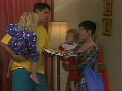 Sky Mangel, Joe Mangel, Jamie Clarke, Kerry Bishop in Neighbours Episode 1163