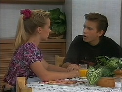 Melissa Jarrett, Todd Landers in Neighbours Episode 1163