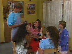Ryan McLachlan, Schoolgirl in Neighbours Episode 1164