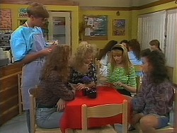 Ryan McLachlan, Jackie, Sharon Davies, Melanie Pearson, Tanya Walsh in Neighbours Episode 1164