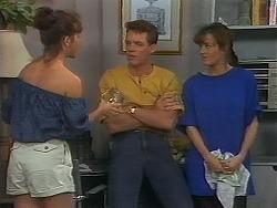 Christina Alessi, Paul Robinson, Caroline Alessi in Neighbours Episode 1164