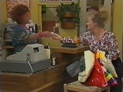 Gloria Lewis, Sharon Davies in Neighbours Episode 1165