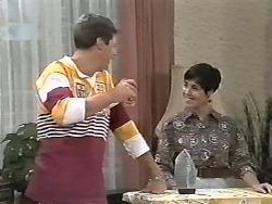 Joe Mangel, Kerry Bishop in Neighbours Episode 1165