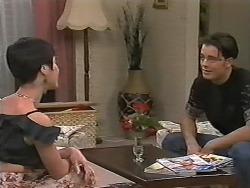 Kerry Bishop, Matt Robinson in Neighbours Episode 1165