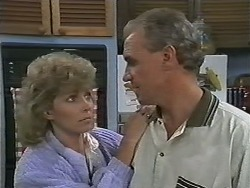 Beverly Marshall, Jim Robinson in Neighbours Episode 1165