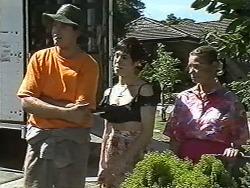 Joe Mangel, Kerry Bishop, Helen Daniels in Neighbours Episode 1166