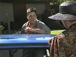 Joe Mangel, Dorothy Burke in Neighbours Episode 1166