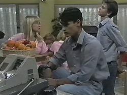 Melissa Jarrett, Josh Anderson, Todd Landers in Neighbours Episode 1166