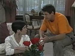 Kerry Bishop, Joe Mangel in Neighbours Episode 1166