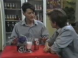 Josh Anderson, Todd Landers in Neighbours Episode 1166