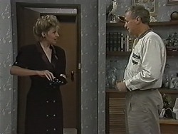 Beverly Marshall, Jim Robinson in Neighbours Episode 1167