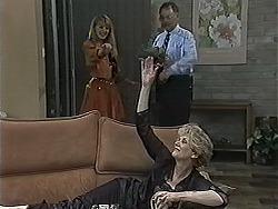 Melanie Pearson, Harold Bishop, Madge Bishop in Neighbours Episode 1168