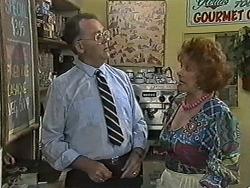 Harold Bishop, Gloria Lewis in Neighbours Episode 1168