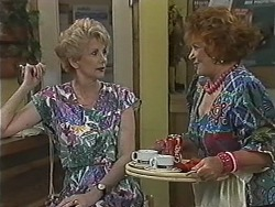 Madge Bishop, Gloria Lewis in Neighbours Episode 1168