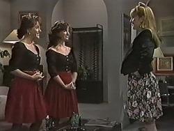Christina Alessi, Caroline Alessi, Melanie Pearson in Neighbours Episode 1168