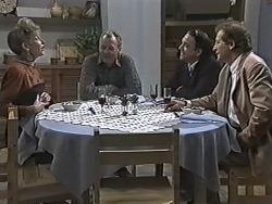 Beverly Marshall, Jim Robinson, Mr. Toben, Ewen O