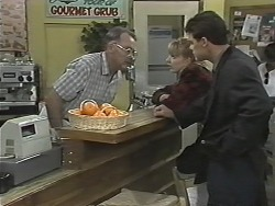 Harold Bishop, Melanie Pearson, Paul Robinson in Neighbours Episode 1169