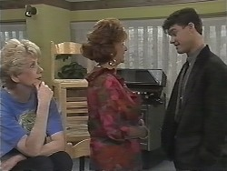 Madge Bishop, Gloria Lewis, Paul Robinson in Neighbours Episode 1169