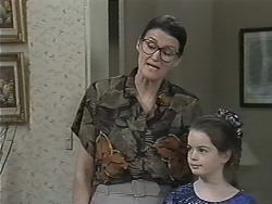Dorothy Burke, Lochy McLachlan in Neighbours Episode 1169