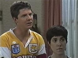 Joe Mangel, Kerry Bishop in Neighbours Episode 1170