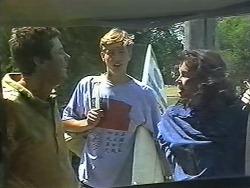 Joe Mangel, Ryan Chew, Tanya Walsh in Neighbours Episode 1170