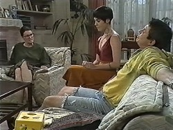 Dorothy Burke, Kerry Bishop, Joe Mangel in Neighbours Episode 1170