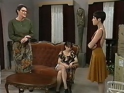 Dorothy Burke, Natasha Kovac, Kerry Bishop in Neighbours Episode 1171
