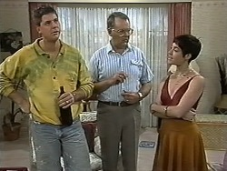 Joe Mangel, Harold Bishop, Kerry Bishop in Neighbours Episode 1171