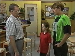 Harold Bishop, Lochy McLachlan, Ryan McLachlan in Neighbours Episode 1171