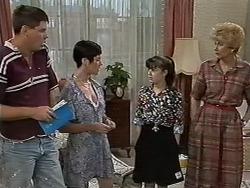 Joe Mangel, Kerry Bishop, Natasha Kovac, Madge Bishop in Neighbours Episode 1172