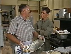 Harold Bishop, Paul Robinson in Neighbours Episode 1172
