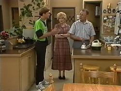 Ryan McLachlan, Madge Bishop, Harold Bishop in Neighbours Episode 1172