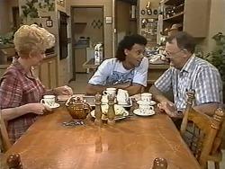 Madge Bishop, Eddie Buckingham, Harold Bishop in Neighbours Episode 1172