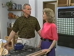 Jim Robinson, Beverly Robinson in Neighbours Episode 1173