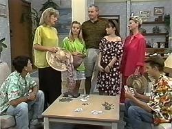 Josh Anderson, Beverly Robinson, Melissa Jarrett, Jim Robinson, Cody Willis, Helen Daniels, Todd Landers in Neighbours Episode 1173