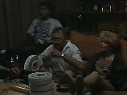 Eddie Buckingham, Harold Bishop, Madge Bishop in Neighbours Episode 1173