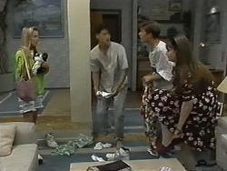 Melissa Jarrett, Josh Anderson, Todd Landers, Cody Willis in Neighbours Episode 1174