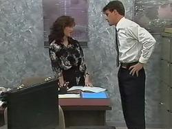 Caroline Alessi, Paul Robinson in Neighbours Episode 1174