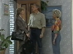 Beverly Marshall, Jim Robinson, Helen Daniels in Neighbours Episode 1174
